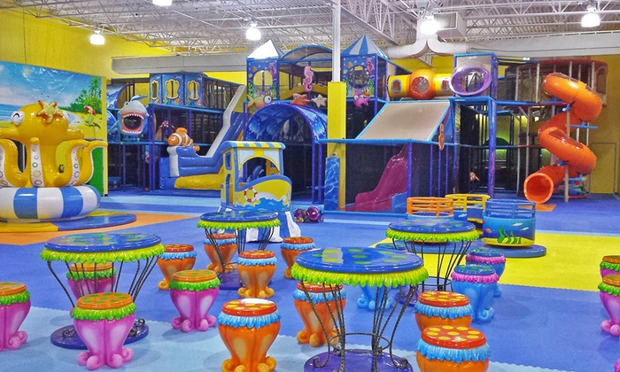 Kids Up - Multiple Locations: 5 or 10 Indoor-Playground Passes at Kids Up (50% Off). Two Locations Available.