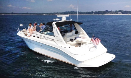 $199 for One-Hour Harbor Cruise for Up to Six Passengers from CharterMySeaRay.Com LLC ($399 Value)