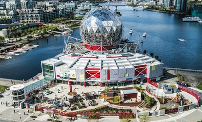 image for OMNIMAX Film Tickets for Two or Four at Science World (Up to 27% Off)