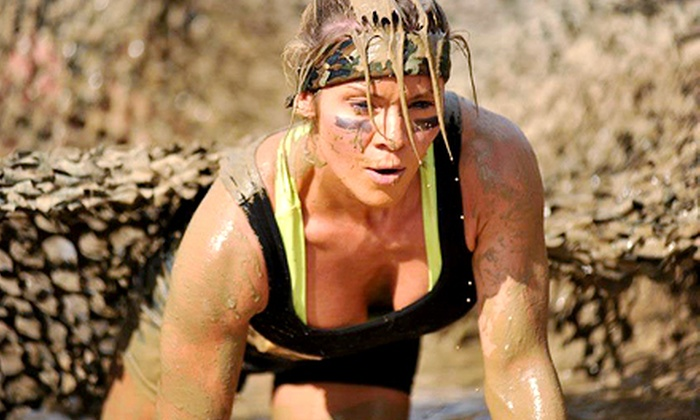 Mighty Mud Dash - Sam Houston Race Park: $40 for Entry in the Mighty Mud Dash on Sunday, November 24 (Up to $85 Value)