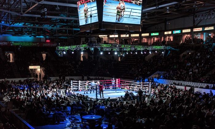 Live Professional Boxing - Hershey Centre: Live Professional Boxing Event on Saturday, November 21, at 7 p.m.