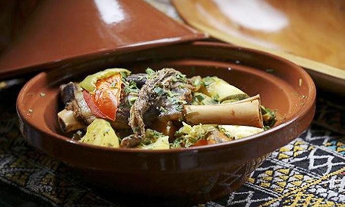 Azro Moroccan & Mediterranean Bistro - Castle Hills: Moroccan and Mediterranean Cuisine for Two at Azro Moroccan & Mediterranean Bistro (Half Off). Two Options Available.