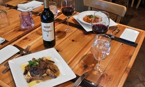 Cafe Madrid Continental: Mediterranean Dinner for Two or Four at Cafe Madrid Continental (Up to 50% Off)
