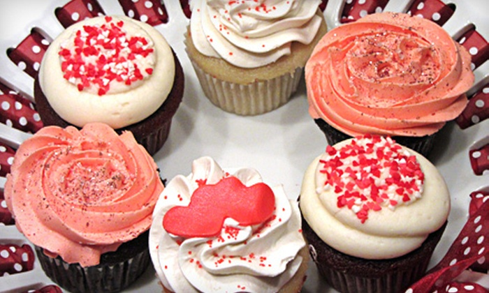 The Cakehole - Far Eastside: $19 for One Dozen Decorated Valentine's Day Cupcakes at The Cakehole ($39 Value)