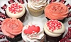 The Cakehole-No GTG - Far Eastside: $19 for One Dozen Decorated Valentine's Day Cupcakes at The Cakehole ($39 Value)