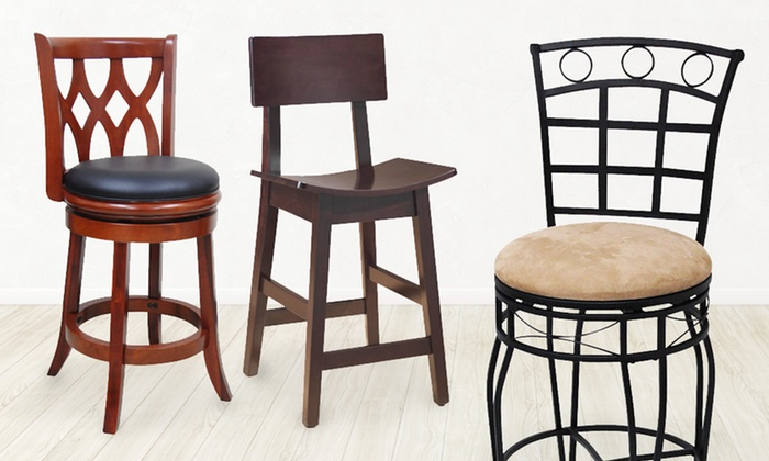 Boraam Swivel and Counter Stools: Boraam Swivel or Counter Stool (Up to 72% Off). 9 Styles Available. Free Shipping and Returns.