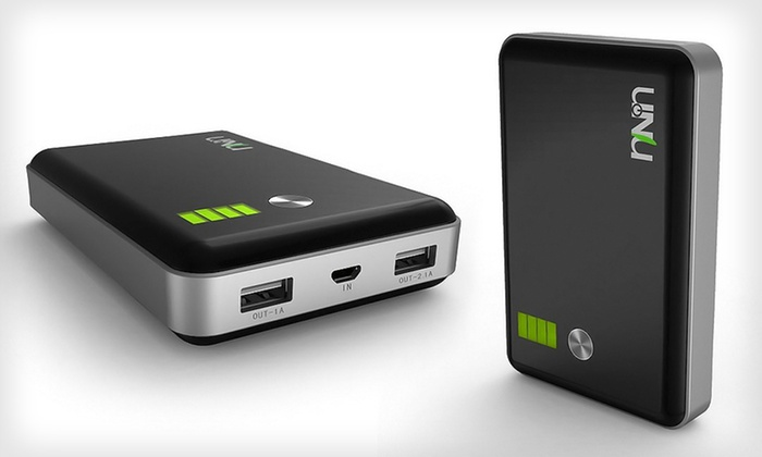 uNu Enerpak 11000mAh Battery Pack: $49 for an uNu Enerpak Portable Battery Pack for Smartphones and Tablets ($99.95 List Price). Free Shipping and Returns.