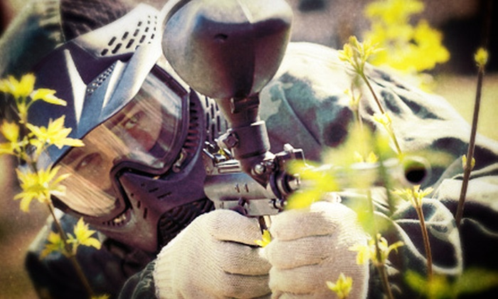 Capture the Flag Outdoor Paintball - Capture the Flag: Paintball for Two, Four, or Six with Ammo and Equipment Rental at Capture the Flag (Up to 71% Off)