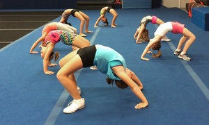 Fire and Ice Allstars- Pittsburgh: One, Two, or Three Months of Cheerleading Classes at Fire and Ice Allstars (Up to 58% Off).
