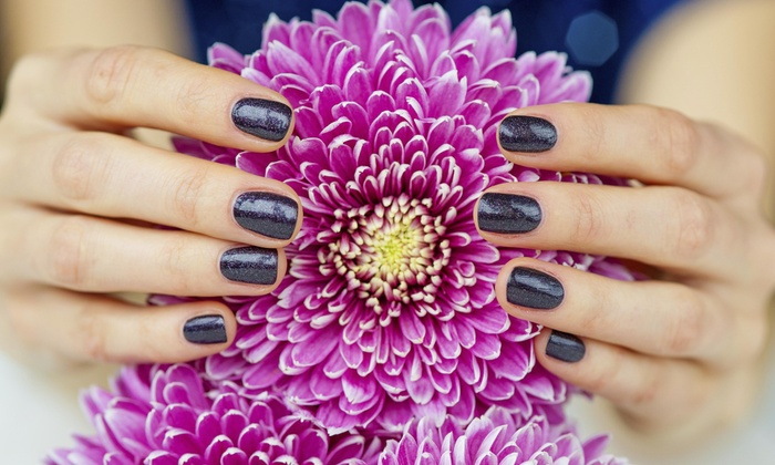 Cosmetology by Marli / Studio V - Mira Mesa: No-Chip Manicure and Pedicure Package from Cosmetology by Marli / Studio V (51% Off)