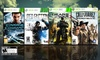 Xbox 360 Action Game 4-Pack: Xbox 360 Action Game 4-Pack with Gears of War 3 and Call of Juarez 2.