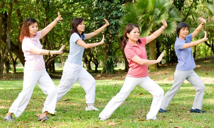 Body & Brain Yoga Tai Chi Studio - Multiple Locations: 5 Yoga or Tai Chi Classes with 30-Minute Private Sessions at Body & Brain Yoga Tai Chi (78% Off)