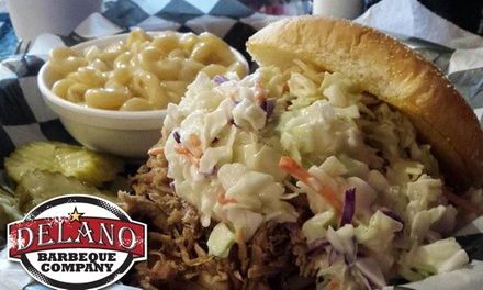 $14 for $24 Worth of BBQ at Delano Barbecue Company