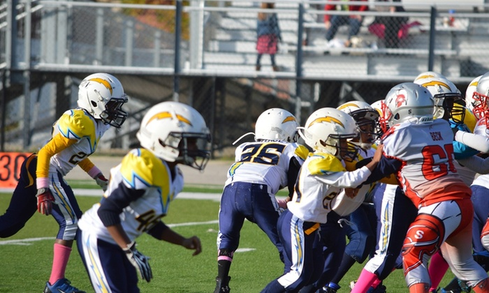 Calumet City Chargers Youth Cheer & Football Program - Calumet City: $80 for $150 Worth of Football — Calumet City Chargers Youth Cheer & Football Program