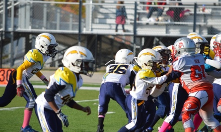 $80 for $150 Worth of Football — Calumet City Chargers Youth Cheer & Football Program