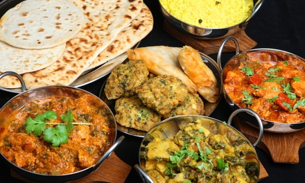 Indian Cuisine for Dine-In or Takeout at Colaba (40% Off).Three Options Available.