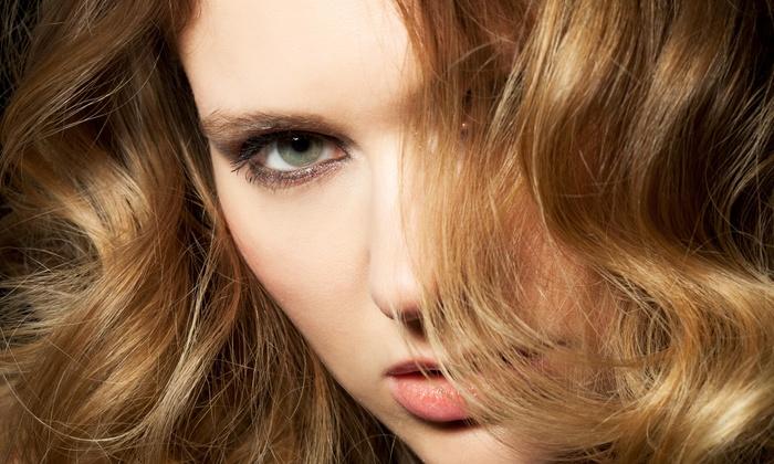 Savaya Spa Salon - Farmington: Haircut, Conditioning, and Partial Highlights from Savaya Spa Salon (55% Off)