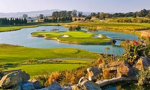 Eagle Vines Vineyards and Golf Club: 18-Hole Round of Golf with Cart Rental for Two at Eagle Vines Vineyards and Golf Club (Up to 39% Off)