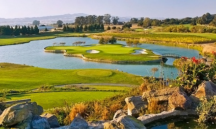 18-Hole Round of Golf with Cart Rental for Two at Eagle Vines Vineyards and Golf Club (Up to 39% Off)