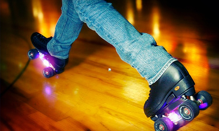 Pattison's West - Federal Way: Roller Skating for Two or Four with Pizza and Soda or Party for Up to Eight at Pattison's West (Up to 56% Off)