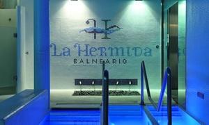 La Hermida: Circuito termolúdico para dos con opción a menú en el restaurante Río Deva desde 42 € en La Hermida