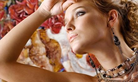 Herstellung von 3 Schmuckstücken mit Perlen verziert mit SWAROVSKI ELEMENTS im Atelier Christiane Klieeisen ab 24,90 €