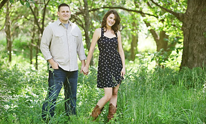 Leah Lund Photography - Pacific Grove: $99 for Engagement Photo Shoot with 24 Save-the-Dates and Five Digital Images from Leah Lund Photography ($525 Value)