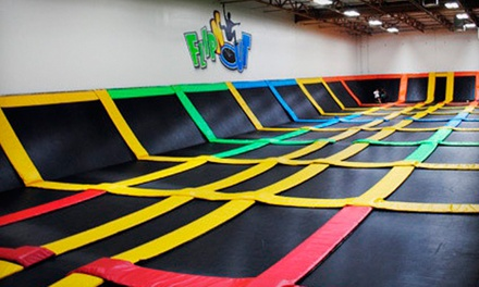 Two or Four 1-Hour Jump Passes at FLIPnOUT Fun Centers (Up to 45% Off)