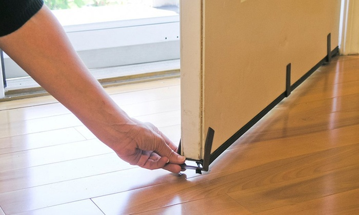 Evelots Magnetic Clip On Door Draft Stopper Groupon