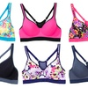 6-Pack Floral-Print Sports Bras. Plus Size Available