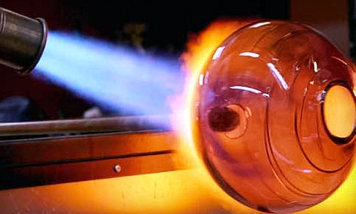Redmond School of Glass - Redmond: Introductory Glass-Blowing Class for One or Two at Redmond School of Glass (52% Off)