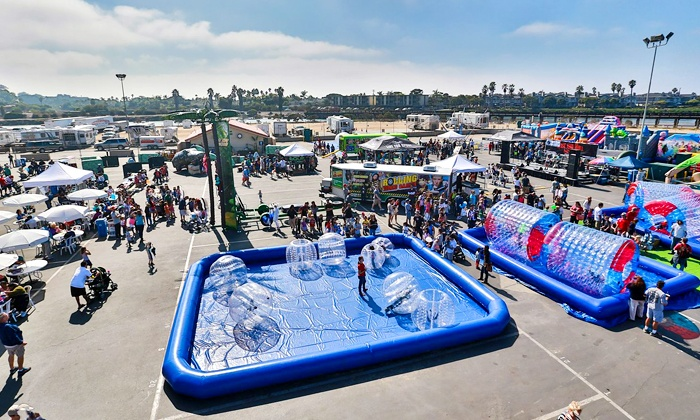San Diego Kids Expo & Fair - DEL MAR FAIRGROUNDS: $20 for Two Adult Admissions with Activities at the San Diego Kids Expo & Fair, October 18–19 ($36 Value)