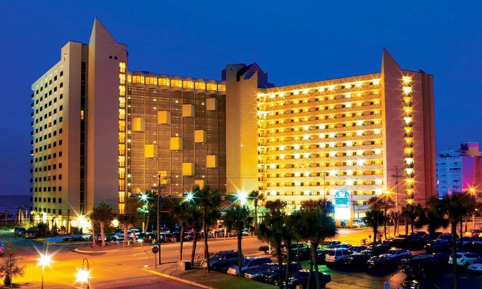 Ocean Reef Resort - Myrtle Beach, SC: Stay at Family-Friendly, Beachfront Resort in Myrtle Beach, SC. Dates Available into June.