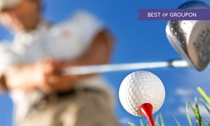 Maywood Golf Club: 18 Holes with Refreshments for Two or Four at Maywood Golf Club (Up to 52% Off)
