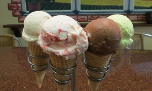 Tazzina di Gelato: $11 for Two Groupons, Each Good for $10 Worth of Gelato and Treats at Tazzina di Gelato ($20 Value)