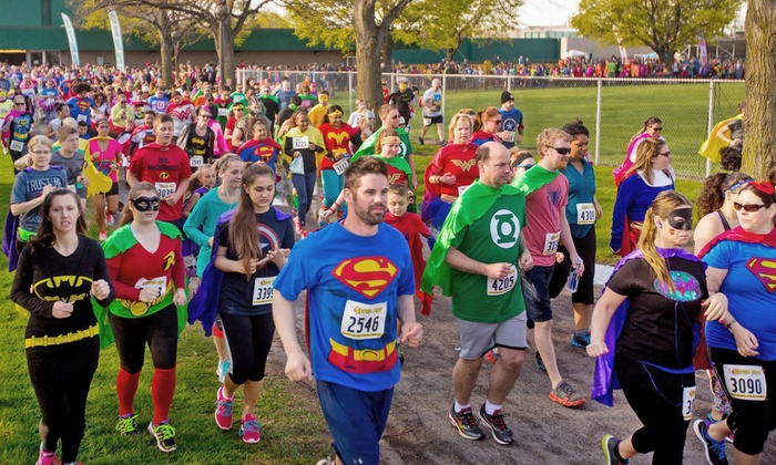 The Super Run - Rossmoor: $26 for The Super Run 5K Entry on Saturday, January 23 ($45 Value)