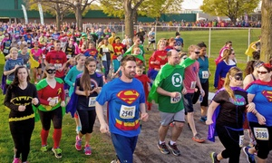 The Super Run: $26 for The Super Run 5K Entry on Saturday, October 31 ($45 Value)