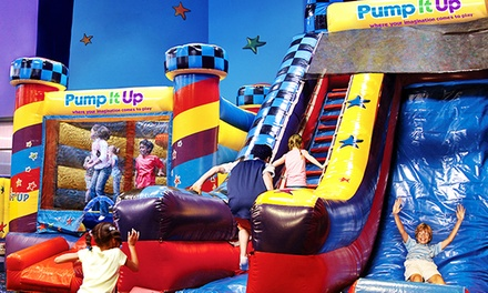 5 or 10 Visit Open Jump Sessions, Birthday Party, or Friday-Evening Sessions at Pump It Up (Up to 45% Off)
