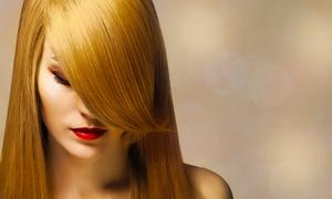 Böhm Haare: Haarschnitt mit Volumen-, Struktur oder Colorbehandlung, opt. Keratinbehandlung, bei Böhm Haare (bis zu 70% sparen*)