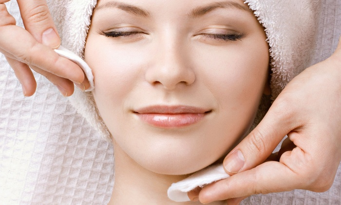B Spa & Salon  - Rye: One or Three Custom Collagen Facials with Dermoelectroporation at B Spa & Salon (Up to 71% Off)