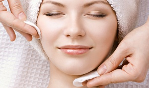 B Spa & Salon : One or Three Custom Collagen Facials with Dermoelectroporation at B Spa & Salon (Up to 71% Off)
