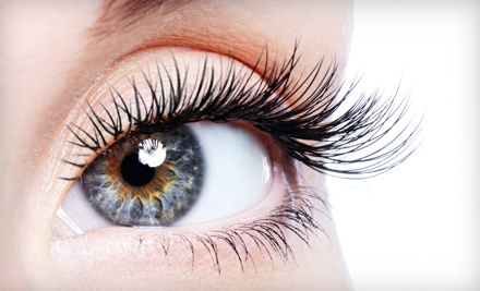 One or Two Full Sets of Eyelash Extensions with Touchup at Hair Revue (Up to 76% Off)