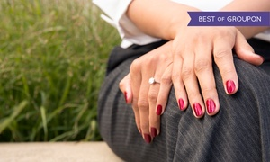 CK Massage & Spa: One or Two Manicures at CK Massage & Spa (Up to 64% Off)