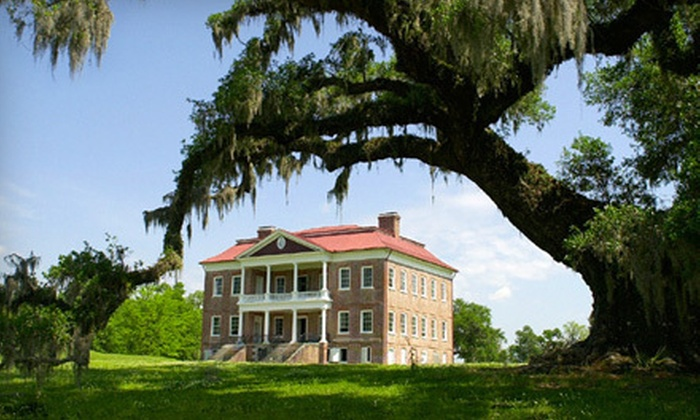 Drayton Hall - Charleston: Two or Four Adult Tour Tickets or Private One-Hour Connoisseur Tour at Drayton Hall (Up to 54% Off)