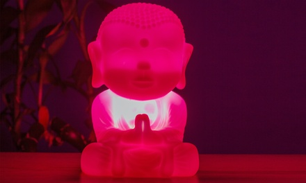 Thumbs Up LED Buddha Light in Pink
