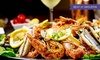 The Old Sail Loft Restaurant - Looe: Mixed Seafood Platter with a Glass of Prosecco Each for Two or Four at The Old Sail Loft Restaurant (Up to 57% Off)