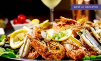 Mixed Seafood Platter with a Glass of Prosecco Each for Two or Four at The Old Sail Loft Restaurant (Up to 57% Off)