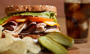 Kanter's Deli: Sandwiches and Burgers at Kanter's Deli (Up to 35% Off). Two Options Available.