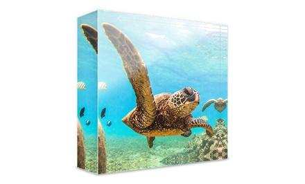 1 o 2 impresiones con imagen personalizable en bloque de metacrilato desde 6,99 € en Photo Gifts