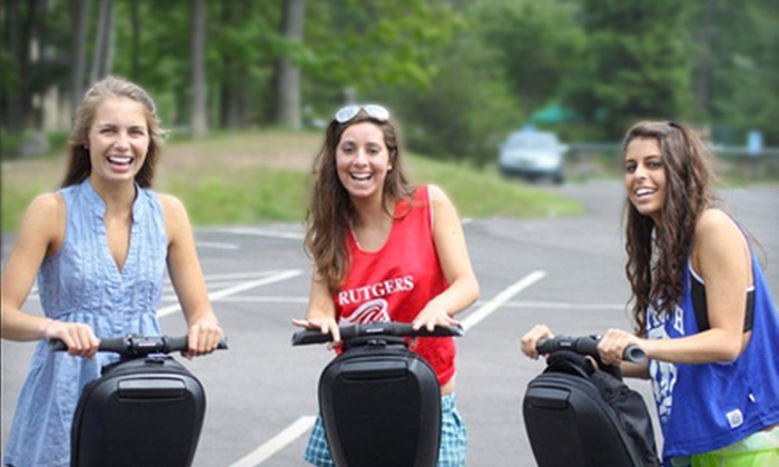 Pocono Segway Tours - Multiple Locations: 3-Mile Segway Tour for One or Two from Pocono Segway Tours (Up to 69% Off)